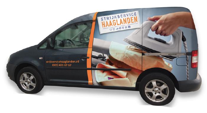 Strijkservice Haaglanden Strijkbus