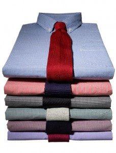 Overhemden strijkservice