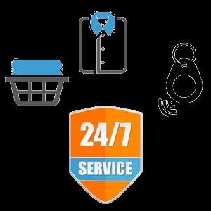 24/7 service brengen